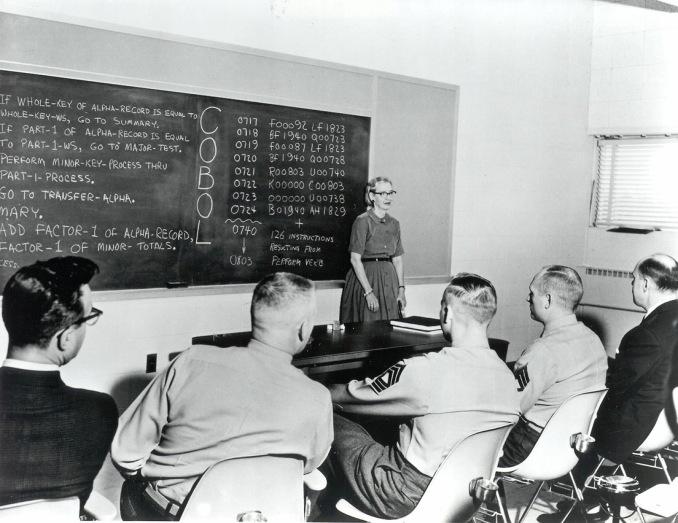 Primera programadora del Mark 1, la primera computadora