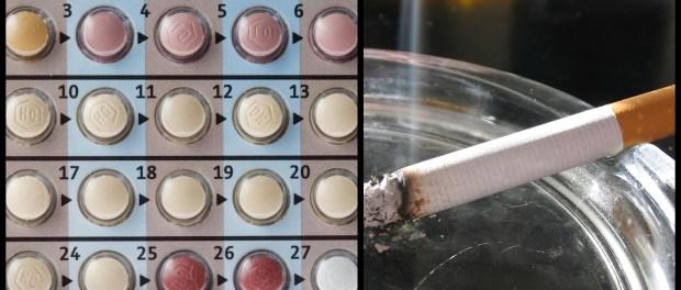 pasti y cigarrillos